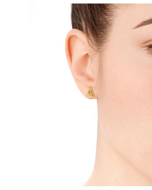 Alex Monroe   Metallic Gold-plated Honey Bee Stud Earrings   Lyst