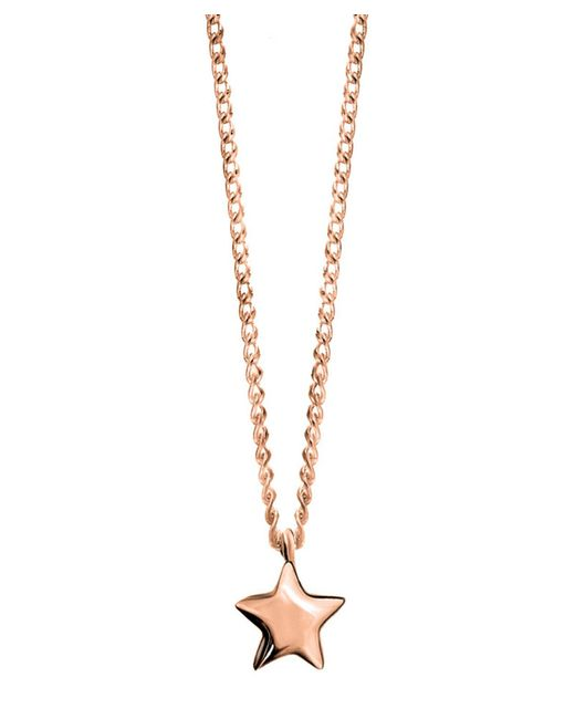 Dinny Hall | Metallic Rose Gold-plated Bijou Star Pendant Necklace | Lyst