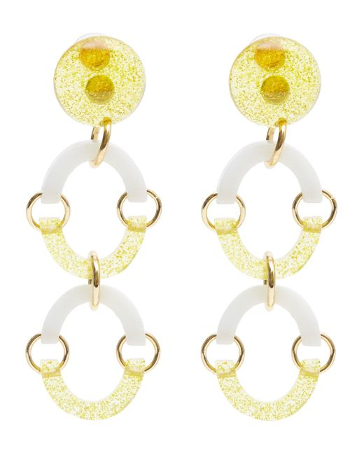 Lele Sadoughi | Yellow Rainbow Arch Earrings | Lyst
