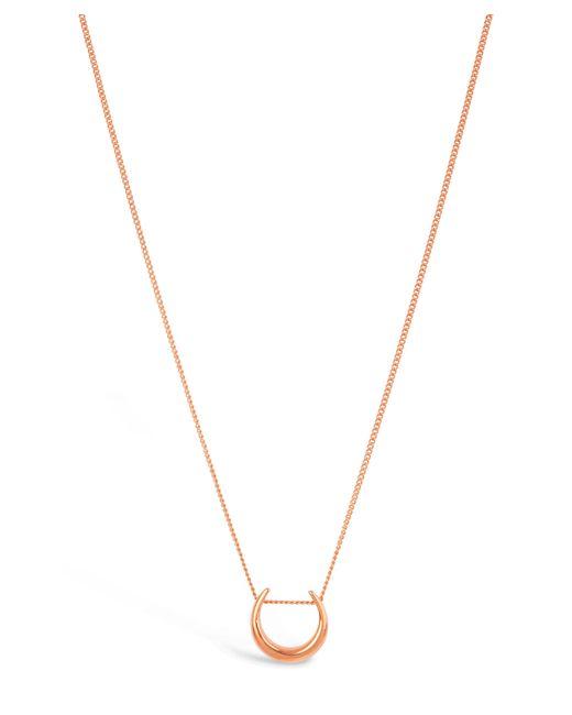 Dinny Hall - Metallic Rose Gold-plated Toro Small Slider Pendant Necklace - Lyst