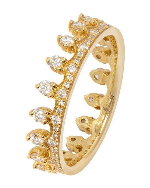 Annoushka - Metallic Crown Ring - Lyst
