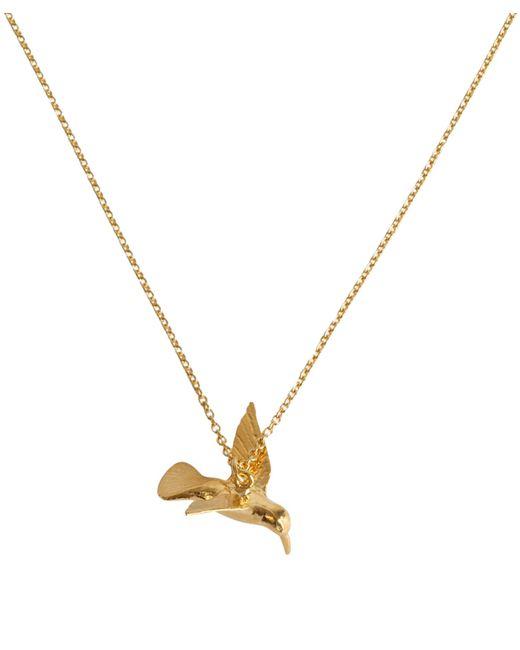 Alex Monroe - Metallic Hummingbird Necklace - Lyst