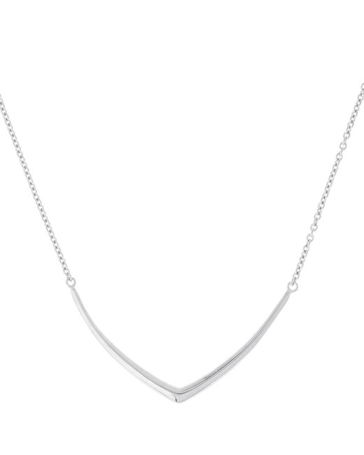 Dinny Hall | Metallic Cushion Chevron Necklace In Sterling Silver | Lyst