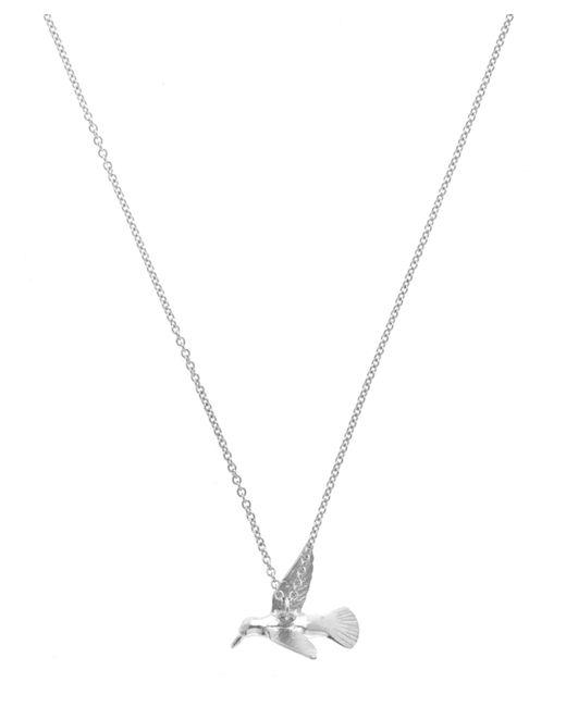Alex Monroe | Metallic Silver Hummingbird Necklace | Lyst