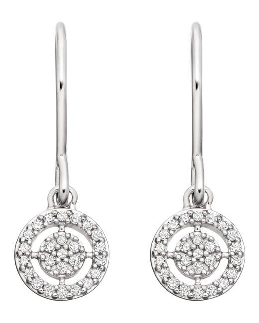 Astley Clarke - White Gold Mini Icon Aura Drop Earrings - Lyst
