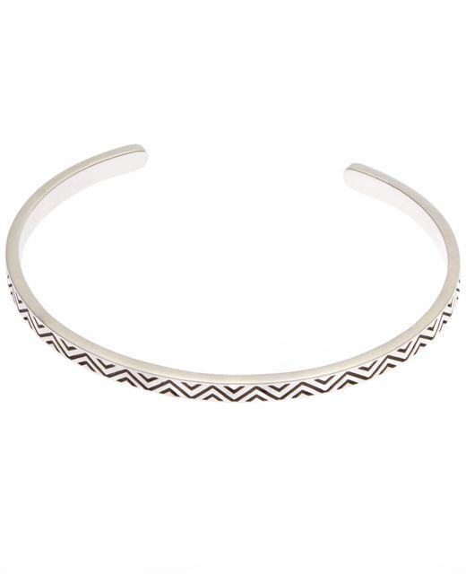 Philippe Audibert | Metallic Aztec Cuff Bracelet | Lyst