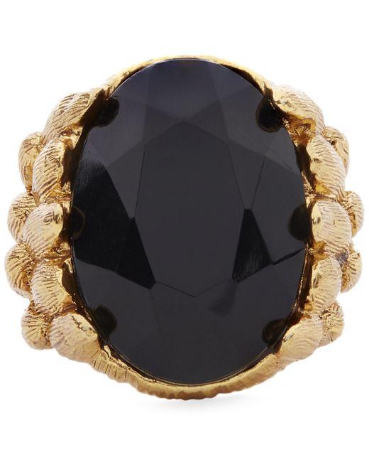 Oscar de la Renta | Black Monarch Ring | Lyst