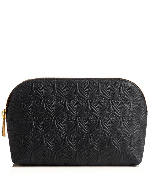 Liberty - Black Iphis Leather Cosmetic Case - Lyst