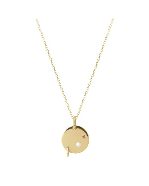 Maria Black | Metallic Gold-plated Faraday Necklace | Lyst