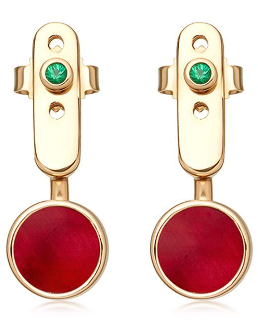 Astley Clarke - Metallic Ruby Mars Ear Jackets - Lyst