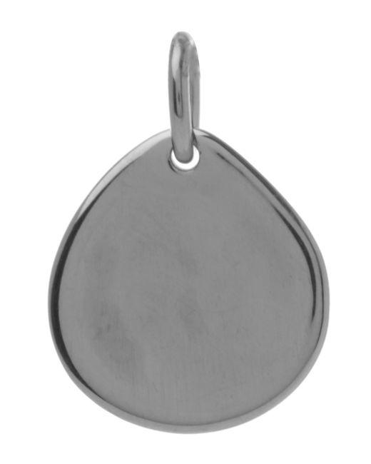 Monica Vinader - Metallic Small Silver Siren Pendant - Lyst