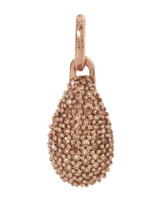 Monica Vinader | Pink Rose Gold-plated Stellar Champagne Diamond Pendant | Lyst