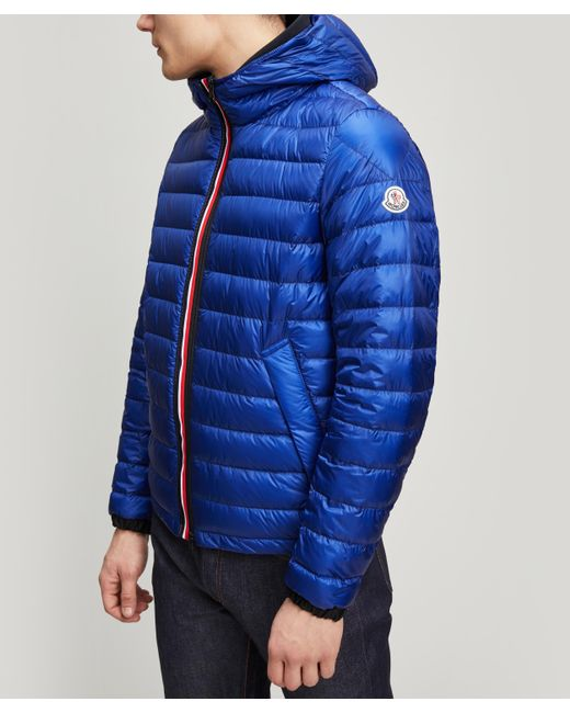 Moncler - Blue Morvan Double Zip Padded Jacket for Men - Lyst