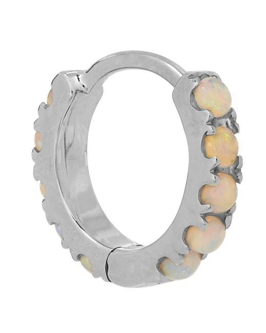 "Maria Tash - Metallic 1/4"" Natural Opal Eternity Earring - Lyst"