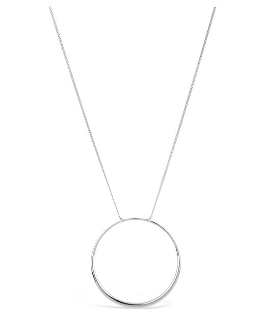 Dinny Hall - Metallic Silver Signature Large Halo Pendant Necklace - Lyst