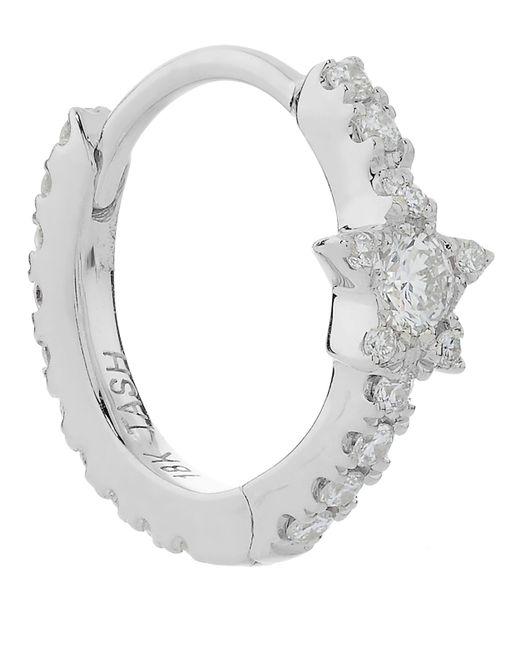 "Maria Tash - Multicolor 5/16"" Diamond Star Eternity Earring - Lyst"
