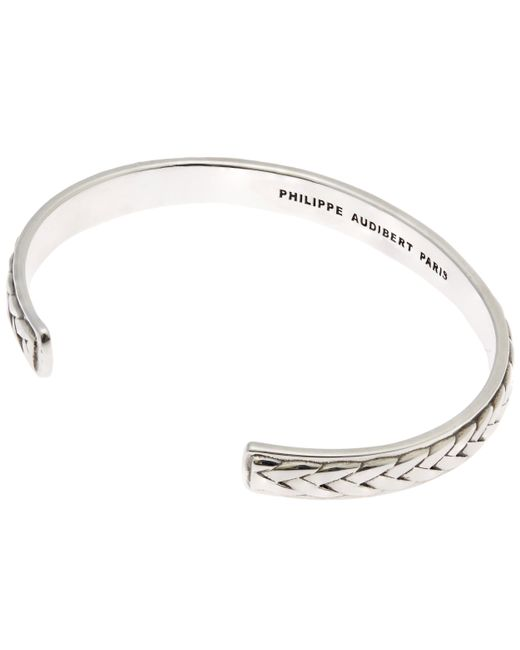Philippe Audibert | Metallic Filan Pattern Cuff Bracelet | Lyst