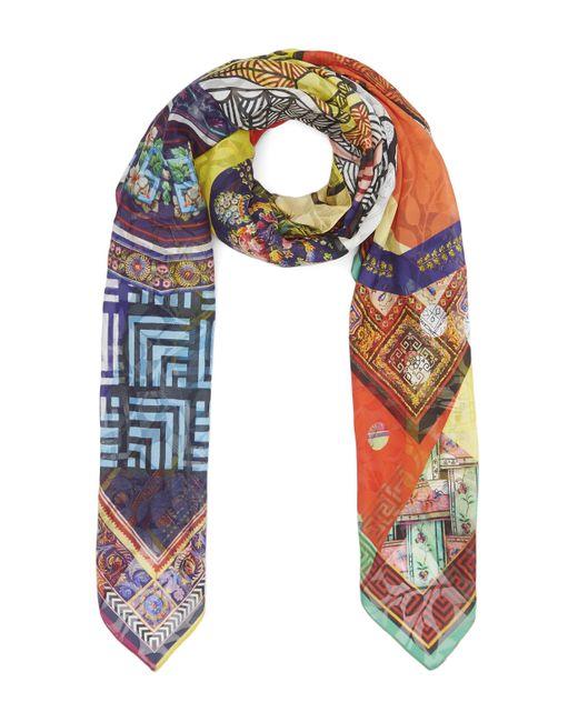 Christian Lacroix | Multicolor Private Collection Silk Jacquard Scarf | Lyst