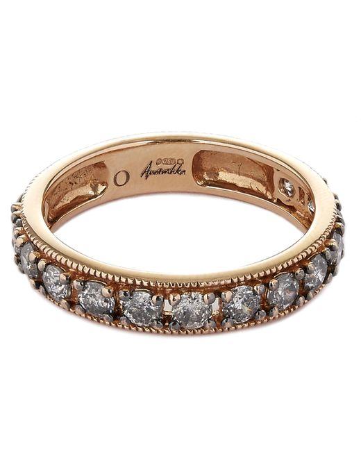 Annoushka - Metallic 18ct Rose Gold Dusty Diamond Eternity Ring - Lyst