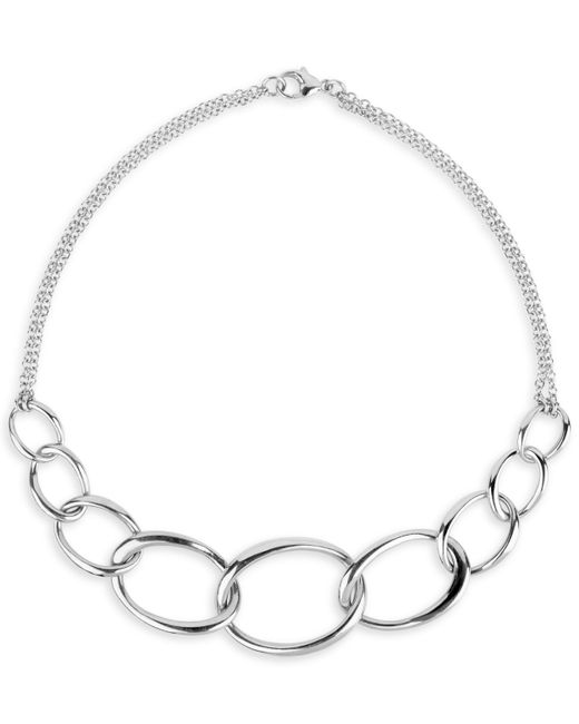 Dinny Hall - Metallic Wave Chain Necklace - Lyst