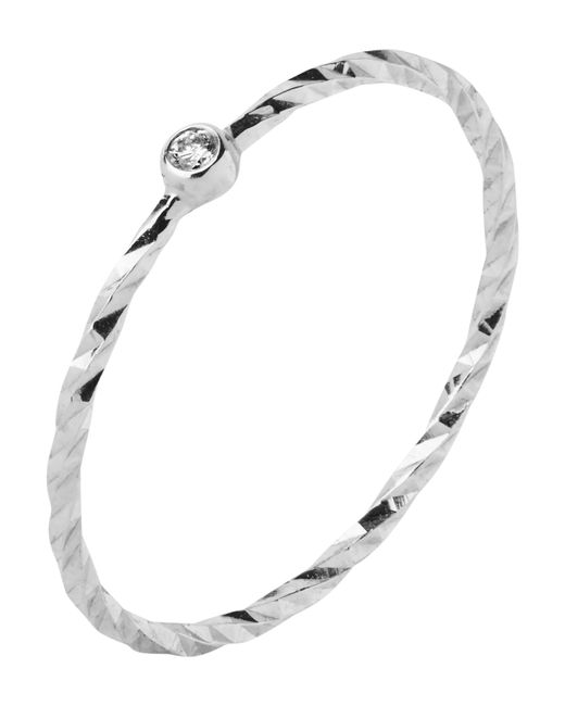 Maria Black - Metallic White Gold Diamond Cut Jabari Ring - Lyst