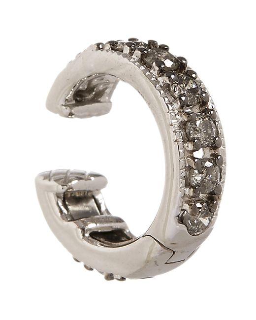 Annoushka - Metallic 18ct White Gold Dusty Diamonds Hinged Ear Cuff - Lyst