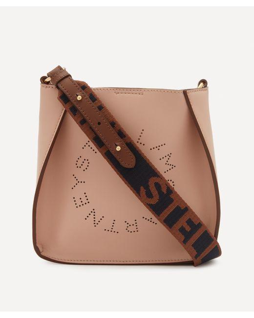 Stella McCartney Multicolor Mini Stella Logo Faux Leather Cross-body Bag