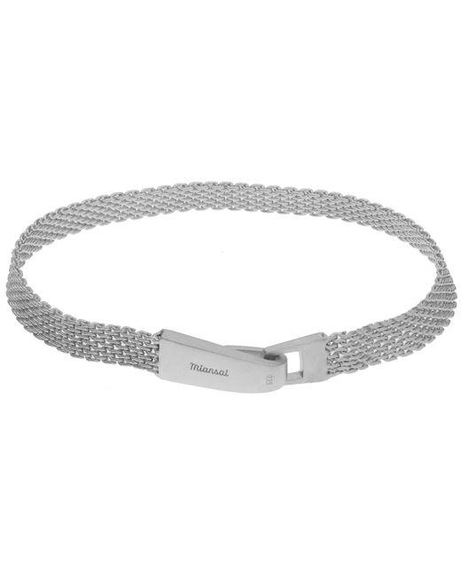 Miansai | Metallic Mesh Chain Wrap Bracelet | Lyst