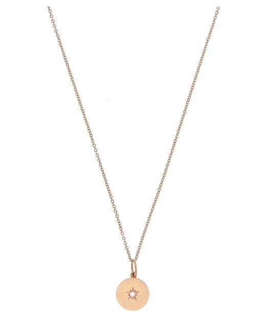 Andrea Fohrman - Metallic Rose Gold Full Moon Diamond Phases Necklace - Lyst