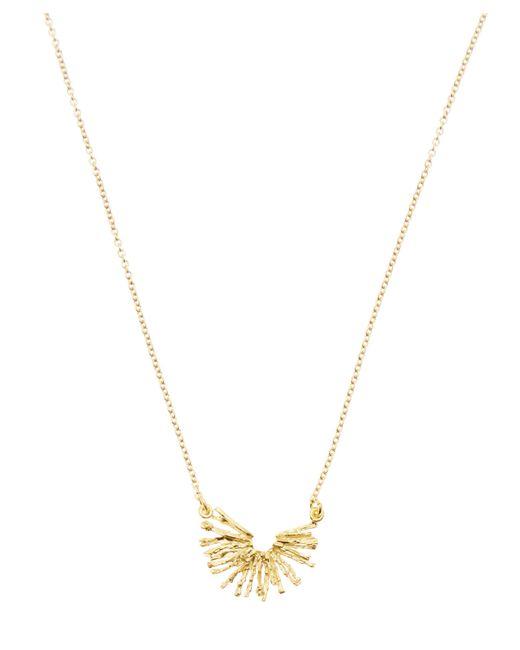 Alex Monroe - Metallic Gold-plated Nest Structure Half Circle Necklace - Lyst