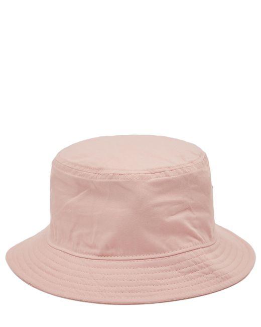 Acne Pink Buk Face Co Tw Bucket Hat