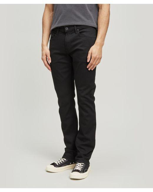 PAIGE - Black Federal Slim Fit Jeans for Men - Lyst