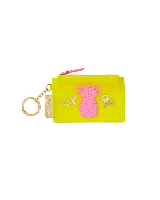 Lilly Pulitzer | Yellow Jelly Coin Case | Lyst