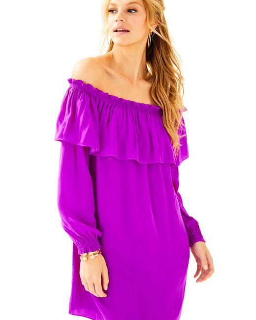 Lilly Pulitzer   Purple Dee Dee Dress   Lyst