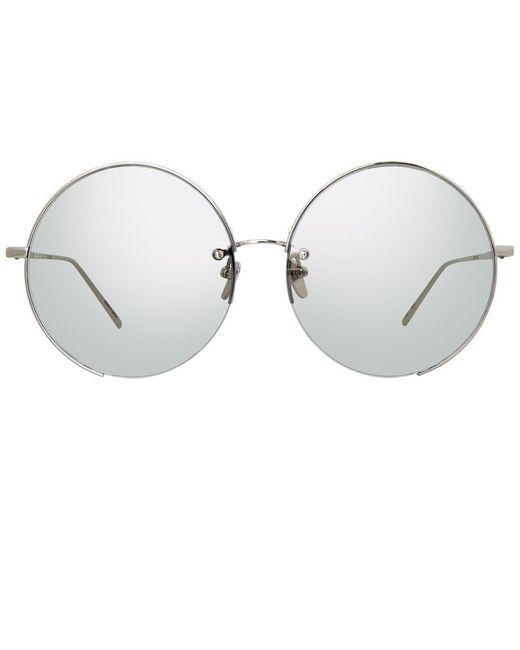 Linda Farrow Multicolor 626 C6 Round Sunglasses