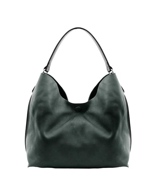 Linea Pelle | Green Hunter Leather Hobo  | Lyst