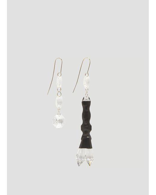 Maison Margiela - Multicolor Double Drop Earrings - Lyst