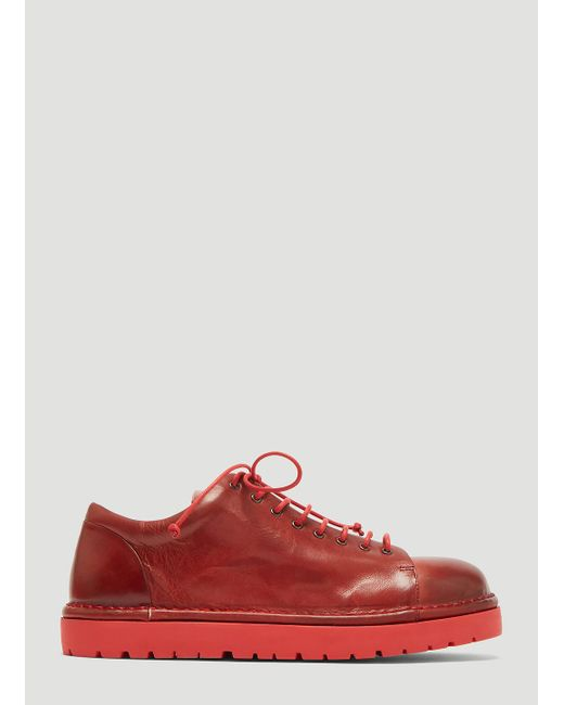 Marsèll - Pallottola Derby Shoes In Red - Lyst