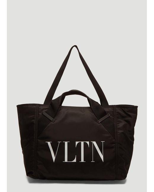 7f94c876556a Valentino Vltn Gym Bag In Black in Black for Men - Lyst