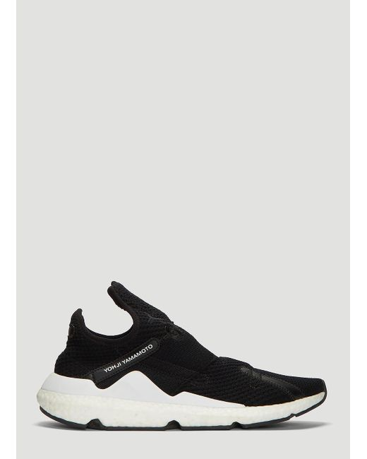 323d3903c Lyst - Y-3 Rebero Sneakers In Black in Black for Men