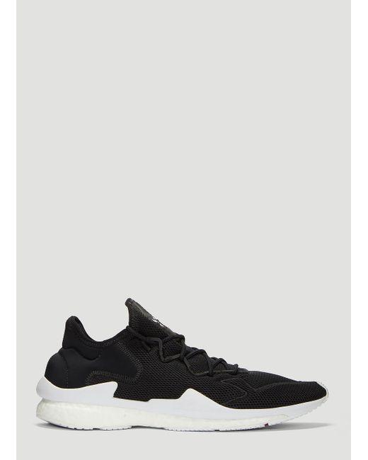 91b58bf270f0a Lyst - Y-3 Adizero Running Sneakers In Black in Black for Men