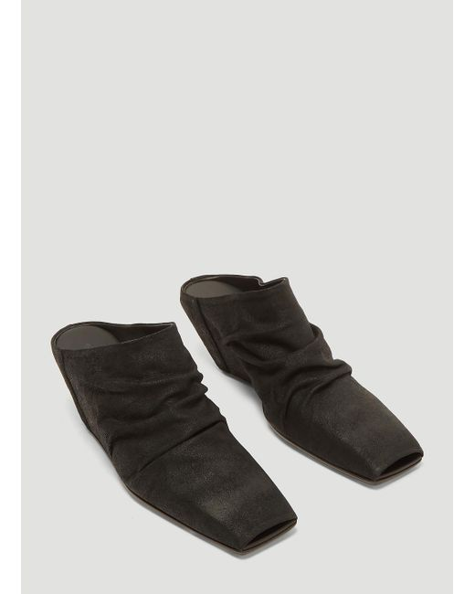 ede8e2578cd1 Lyst - Rick Owens Walrus Sock Wedge Boots In Black in Black - Save 59%