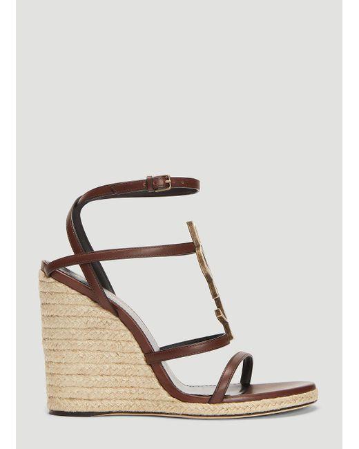 b4cfb4f070a Women's Brown Cassandra Wedge Sandals