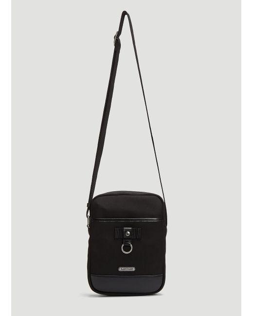 902a2616f13 Saint Laurent - Rivington Canvas Crossbody Bag In Black for Men - Lyst ...