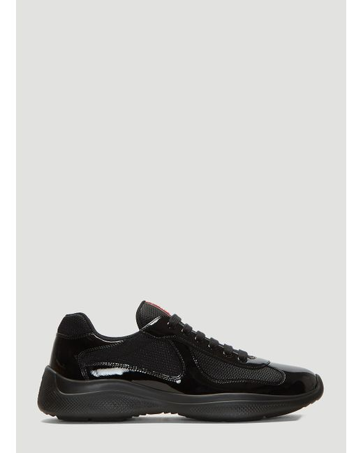 8a3f1cb1 Men's America's Cup Lace-up Sneakers In Black