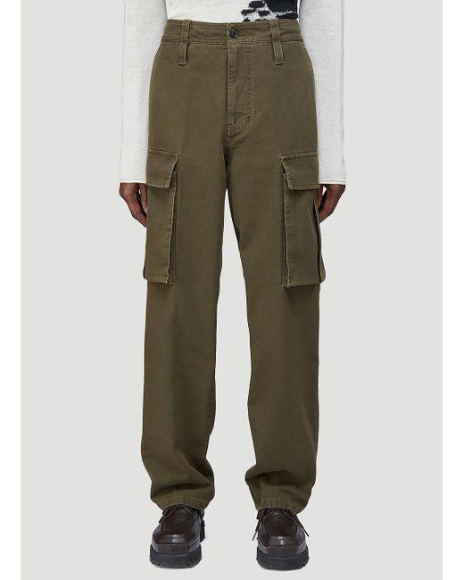 Acne Multicolor Male Khaki 100% Cotton. Dry Clean. for men