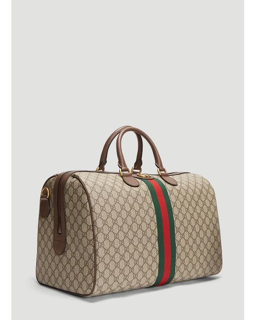 3f40bb5c0a68 ... Gucci - Natural Ophidia GG Medium Carry-on Duffle Bag In Beige for Men  ...