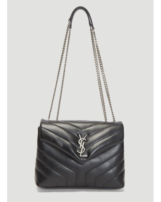 Lyst - Saint Laurent Y-quilted Lou Lou Bag In Black in Black 4583d31f607cf
