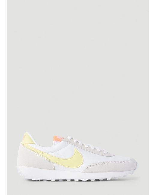 Nike White Female Ivory 100% Nylon. 100% Suede. 100% Rubber.