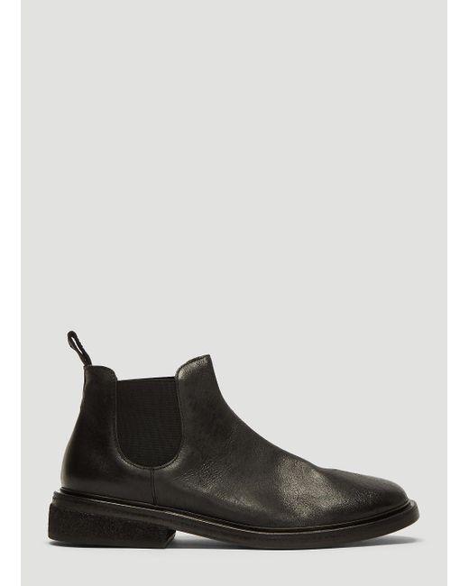 8407cb21b9fa5 Marsèll Pomicione Beatle Boots In Black in Black for Men - Lyst